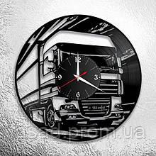 Годинник акриловий настінний 3D (Даф) Код-11122