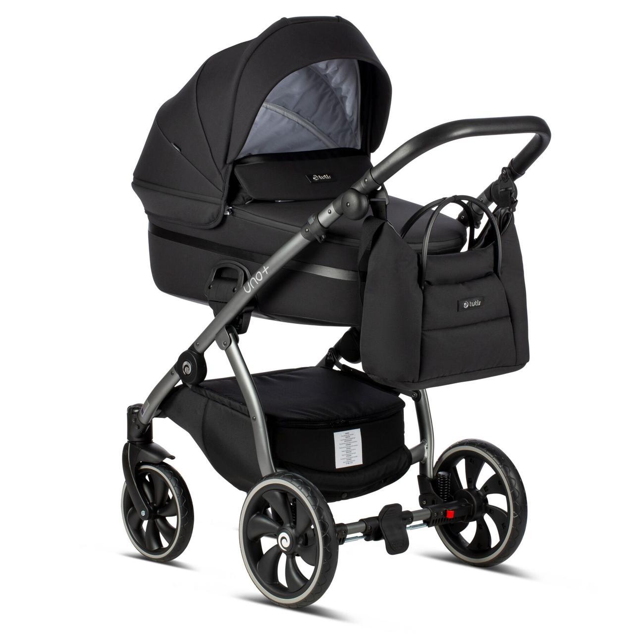 Детская универсальная коляска 2 в 1 Tutis Uno Plus Charcoal/100