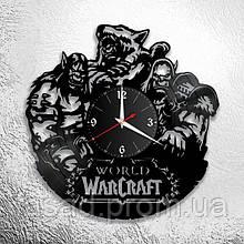 Годинник акриловий настінний 3D (Warcraft) Код-11173