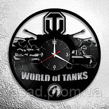 Годинник акриловий настінний 3D (World of tanks) Код-11176