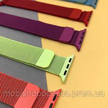 Цветные ремешки для Apple Watch