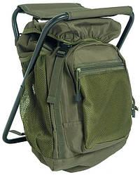 Рюкзак 20л со складным стулом MilTec Olive 14059001