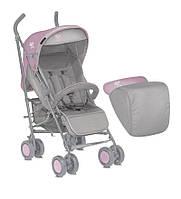 Коляска Bertoni iMove Gray Pink с чехлом