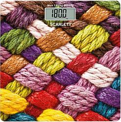 Весы напольные Scarlett SC-BS33E031