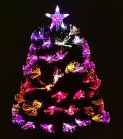Новогодняя елка сосна искусственная разборная C 29330 с Led подсветкой 55 веток зеленая