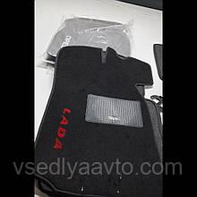 Водительский коврик ворсовый  ВАЗ  2101-02-03-04-05-06-07  (Жигули)