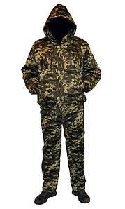Костюм зимовий куртка під гумку + штани Піксель р. 48-58