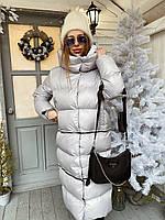 Пуховик трансформер женский теплый объемный- пальто, куртка бомбер с капюшоном разные цвета Gm1511