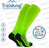 Функціональні анатомічні шкарпетки LongDry (40-43) М чорно-салатові.