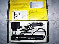 Отпугиватель собак-электрошокер 1102 bailong, шокер с сьемным аккумулятором+зарядка от прикуривателя