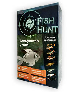 Fish Hunt - Стимулятор улова для всех видов рыб (Фиш Хант) #E/N