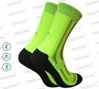 Функціональні анатомічні шкарпетки MidDry (40-43) М чорно-салатові.
