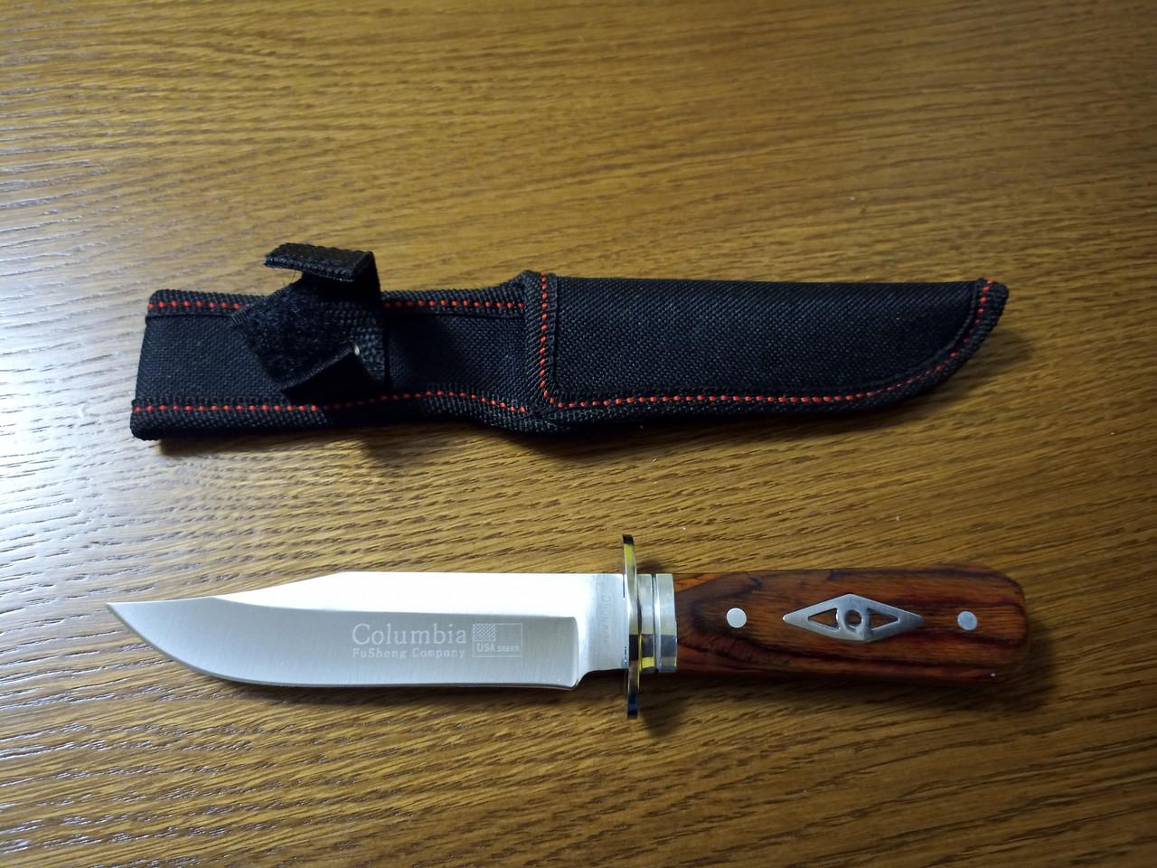Нож охотничий тактический Columbia USA K306C +чехол