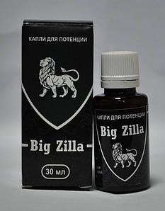 Big Zilla - Капли для потенции (Биг Зилла) #E/N