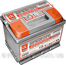 Аккумулятор ДК 6СТ 60А3 плюс слева