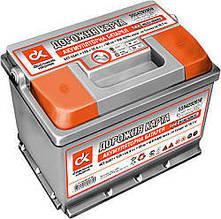 Аккумулятор ДК 6СТ 60А3 плюс справа