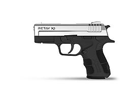 Пістолет стартовий Retay X1. Колір - Nickel