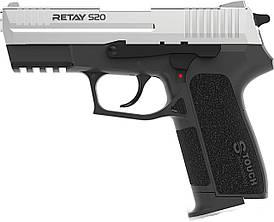 Пістолет стартовий Retay S20 Колір - nickel S530102N