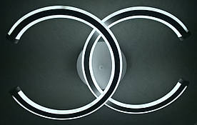 Светодиодная потолочаня LED люстра 2014/2-wh-2color Белый 10х31х47 см.
