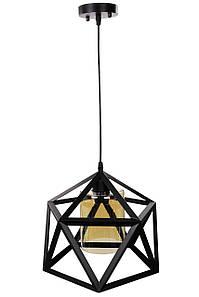 Люстра потолочная подвесная в стиле LOFT (лофт) 12203/1 Черный 35х31х31 см.