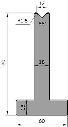 Матрица М.568.88.С (835мм), фото 2