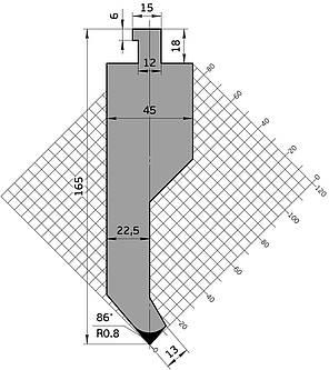 Пуансон Р.900.81.С (835мм), фото 2