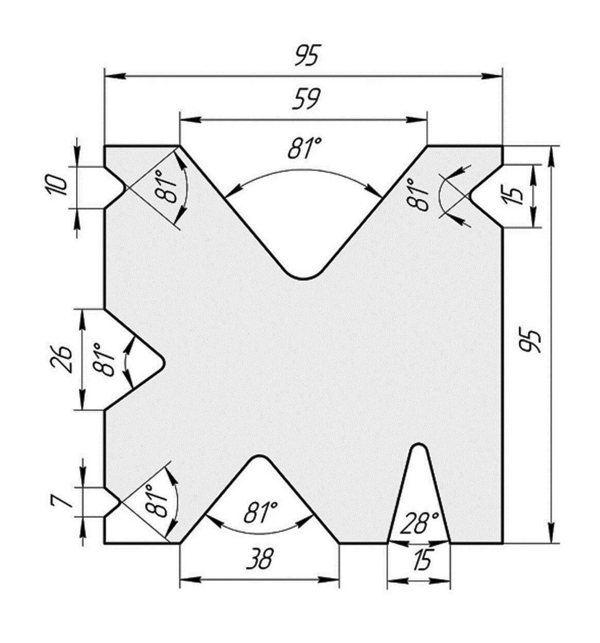 Матрица М.911.81.Н (500мм)