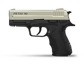 Пістолет стартовий Retay X1. Колір - Satin