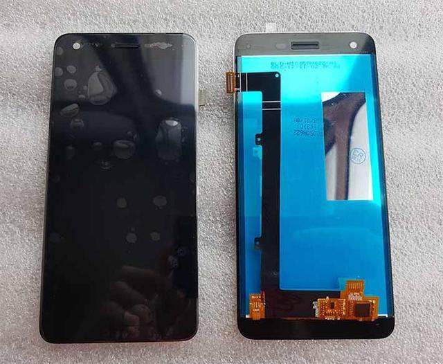 Дисплей ZTE Blade A522 модуль в зборі з тачскріном, чорний