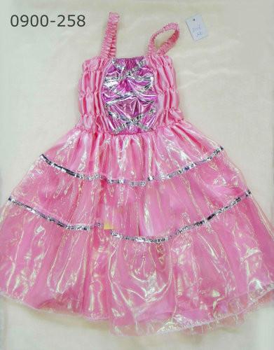 Платье бальное, розовое