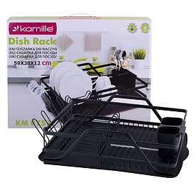 Сушарка для посуду 59х38х13 см Kamille KM-0751