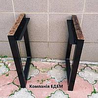 Ножки для лавки в стилі Лофт Лф-4, підсилені, фото 1