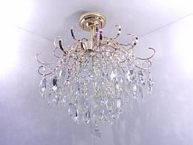 Люстра потолочная хрустальная 90040/6 Золото 60х57х57 см.