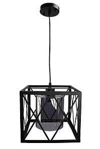 Люстра потолочная подвесная в стиле LOFT (лофт) 11535/1 Черный 30х25х36 см.
