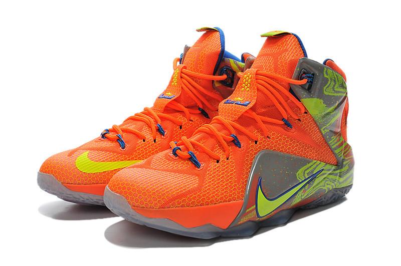 31ba3b6f Баскетбольные Кроссовки Nike Lebron 12 Orange — в Категории