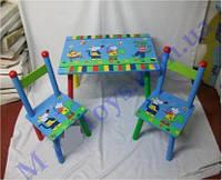 Мебель детская стол и стульчики, фото 1