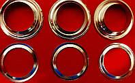 Люверс + шайба  Ф=18мм  никель