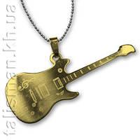 Кулон ST-08 - Гитара 8 - золото