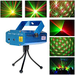 Лазерный проектор, стробоскоп, диско лазер, 6 в 1 c треногой СИНИЙ, фото 2