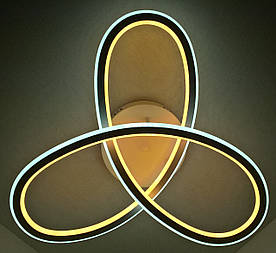 Люстра потолочная LED с пультом A9996/3 Белый 13х55х55 см.