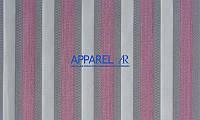 Мебельная ткань MARSEL STRIPE ROSE  жаккард (производство Аппарель)