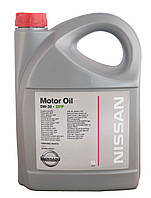 Масло моторное NISSAN Motor oil 5W-30 DPF 5л