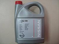 Масло моторное NISSAN Motor oil 5W-40 5л