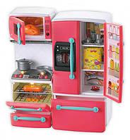 Кухня игровой набор МЕБЕЛЬ 66096 кухня, 29 см, плита, посуда, продукты, звук, свет, 2 вида.