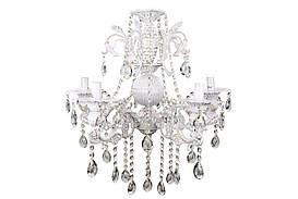 Люстра свічка 11618/5 Білий 60х54х54 див.