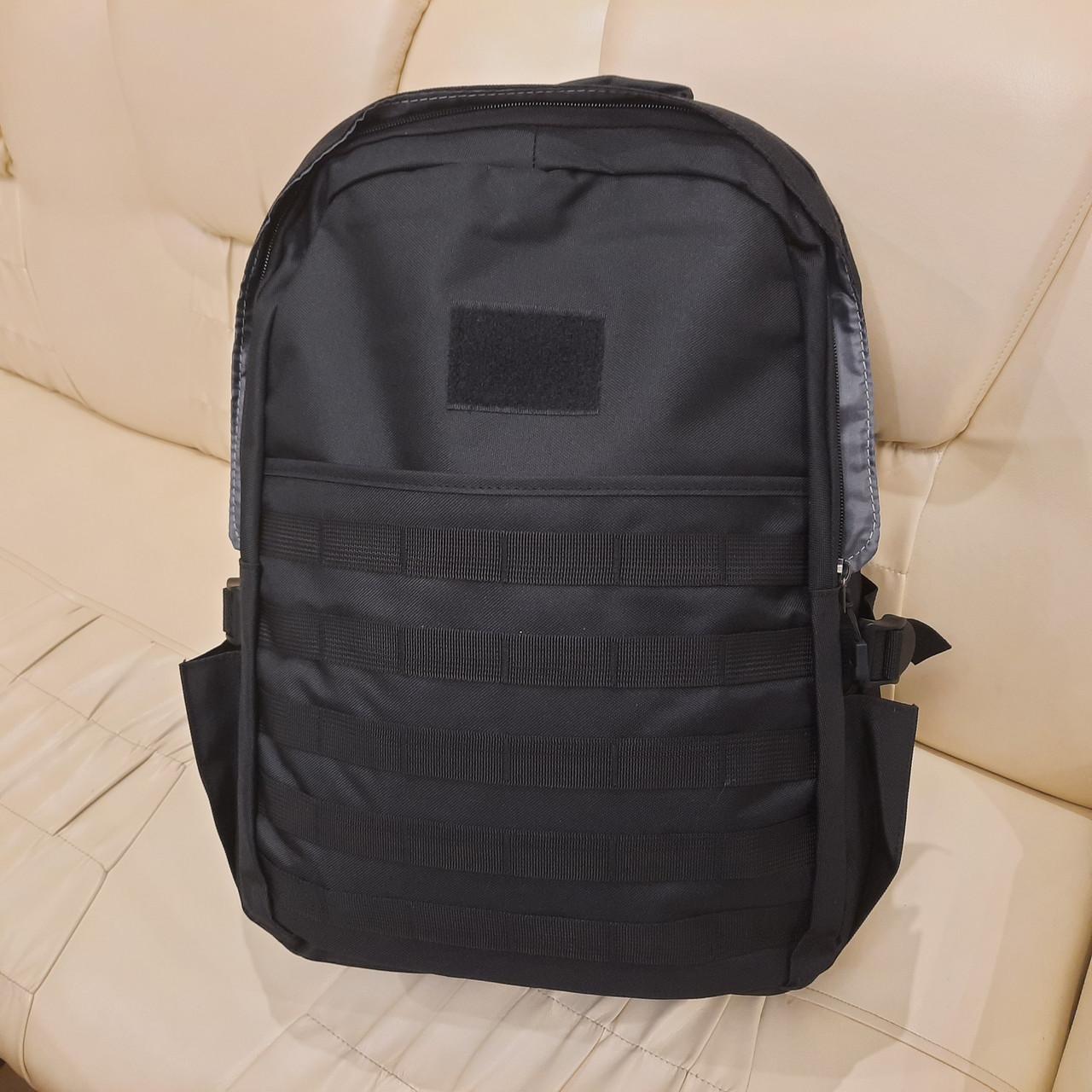 Черный тактический армейский рюкзак