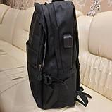Черный тактический армейский рюкзак, фото 2