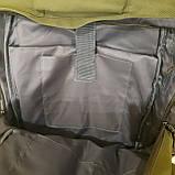 Черный тактический армейский рюкзак, фото 7