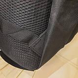 Черный тактический армейский рюкзак, фото 4