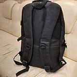 Черный тактический армейский рюкзак, фото 5